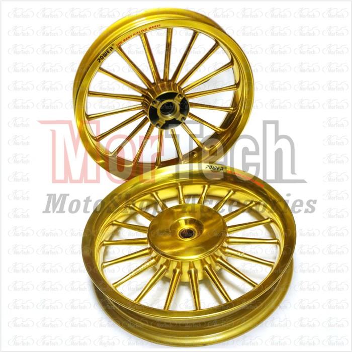 harga Velg racing tapak lebar power classic vario 150 palang 18 gold Tokopedia.com