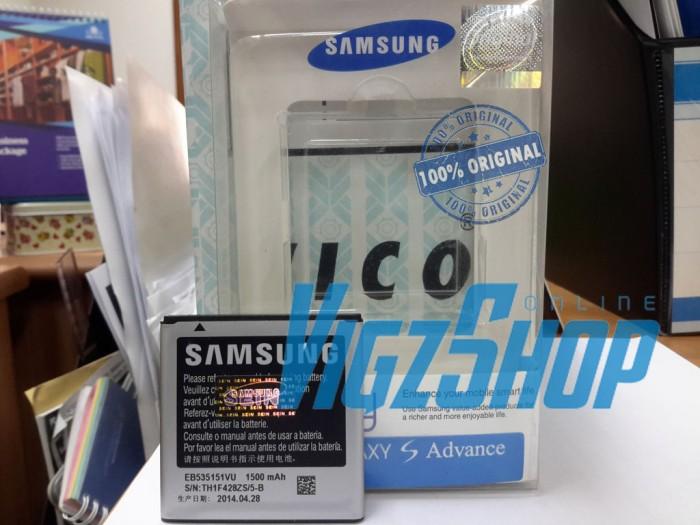 harga Baterai battery samsung galaxy s advance i9070 original sein 100% Tokopedia.com