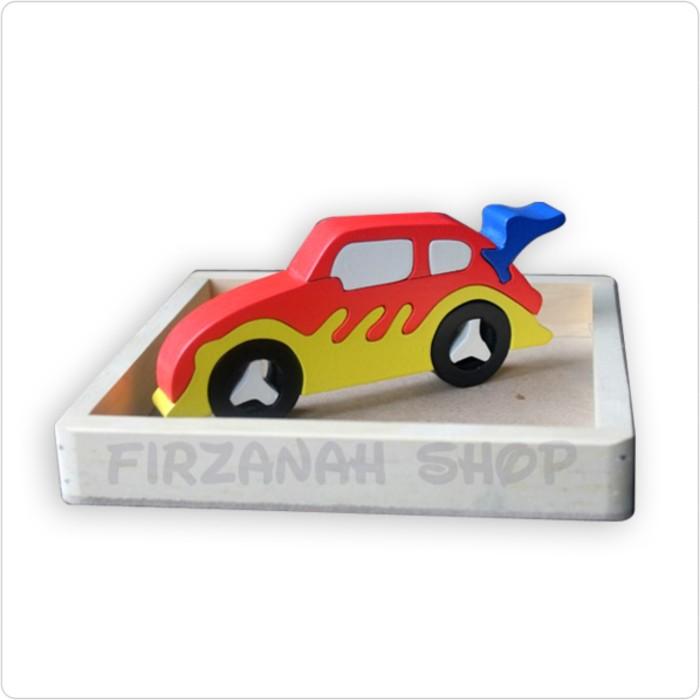 Mainan Kayu SNI   Mainan Kayu Edukatif   Puzzle Satuan 3D Transportasi 671e5df80f