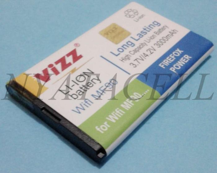 harga Bolt mf90 3000mah batre/baterai vizz double power modem wifi/zte Tokopedia.com