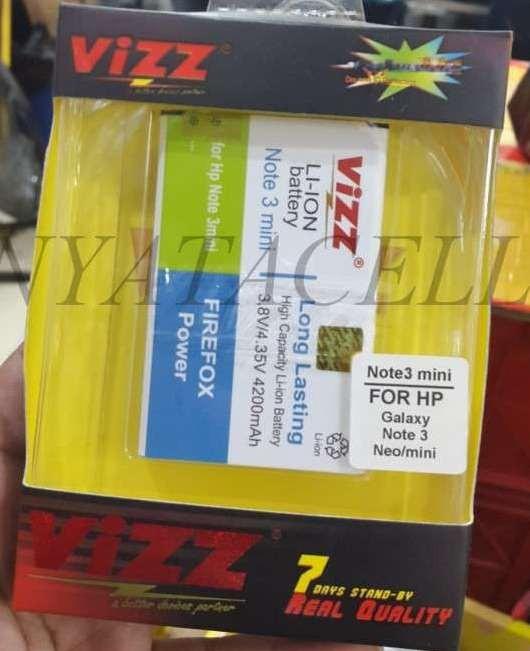 harga Galaxy note 3 mini 4200mah batre/baterai vizz double power samsung neo Tokopedia.com