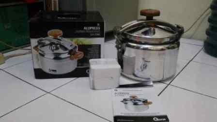 Panci Presto Oxone Alumunium Pressure Cooker OX-2004 Alupress 4 Liter