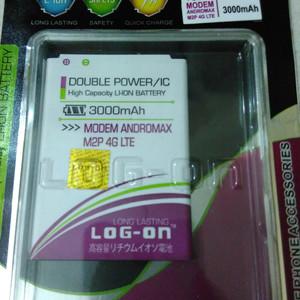 Foto Produk baterai battery modem smartfren andromax m2p 4G Lte log on 3000mah dari pasarmalamonline