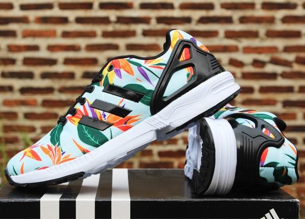 ... usa sepatu running adidas zx flux women flower putih 327d4 74781 7ed29d5713