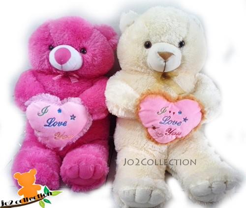 harga Boneka teddy bear dengan bantal hati Tokopedia.com