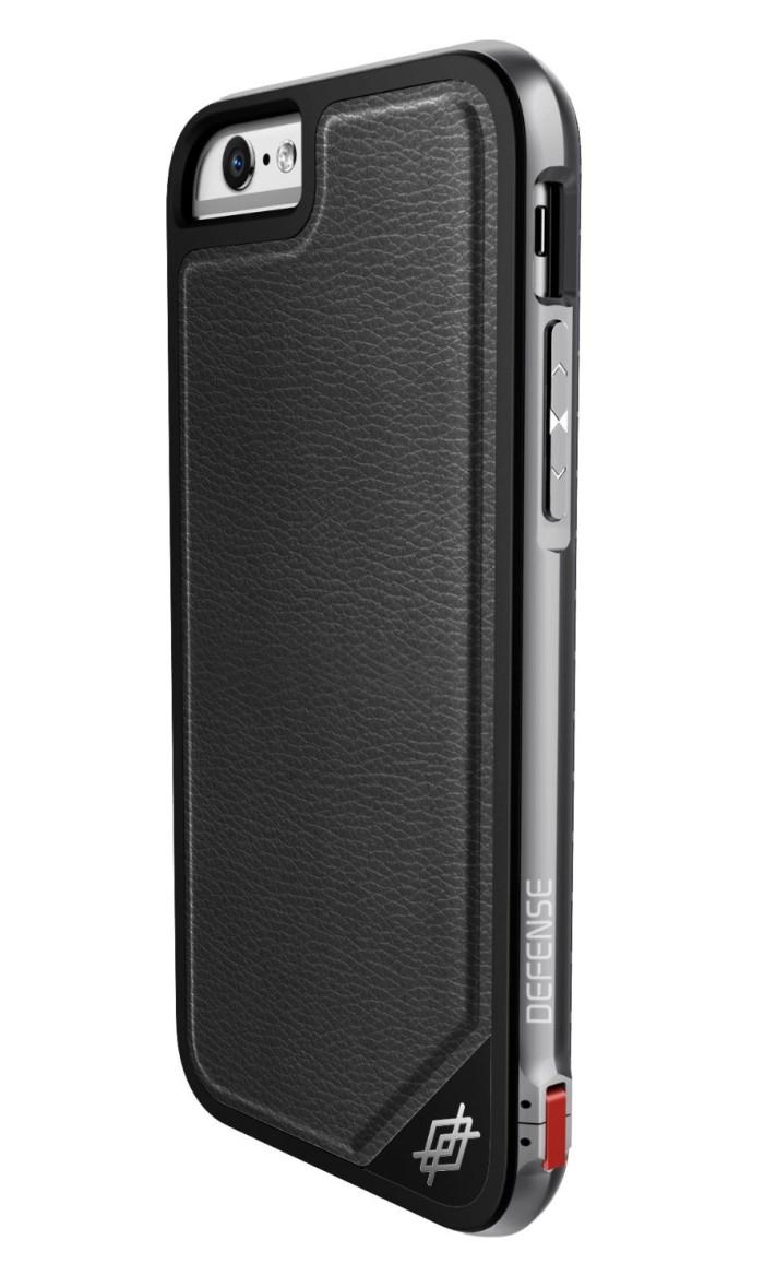 jual x doria   iphone 6s plus   defense lux black leather