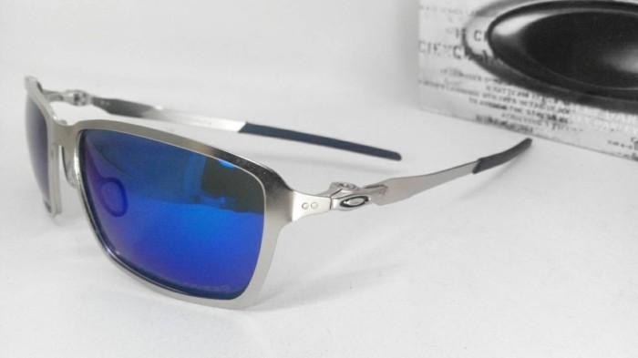 Jual Kacamata Oakley TINCAN Silver Frame W  BLUE Lens (Polarized ... 4691b319a8