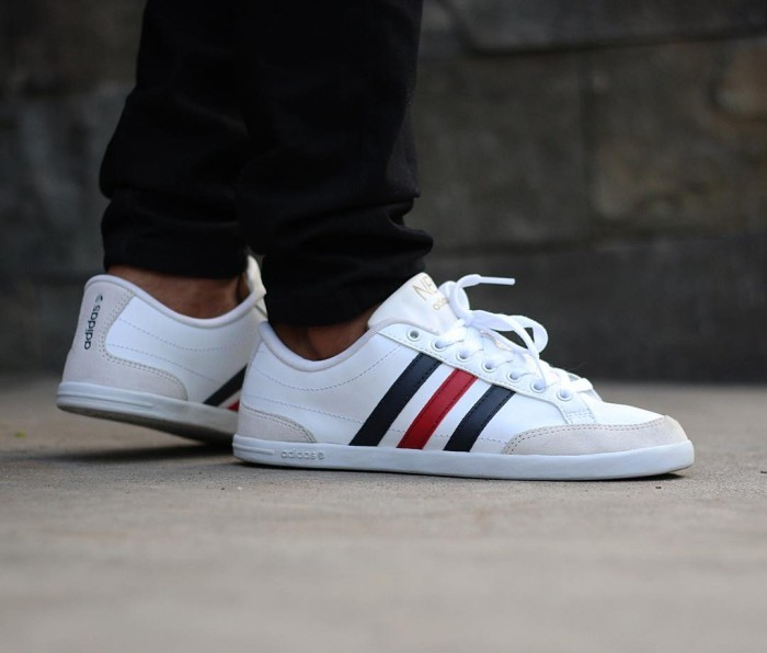 adidas neo caflaire white online -