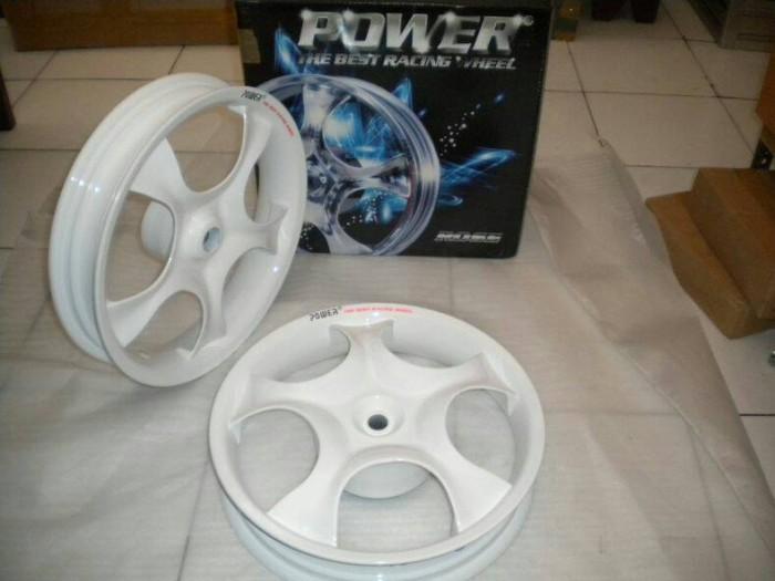 harga Velg power rose white vario 110 - beat - mio - xeon Tokopedia.com