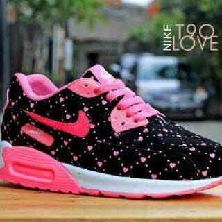 Jual sepatu nike airmax love hitam pink cek harga di PriceArea.com 8e78554c4c
