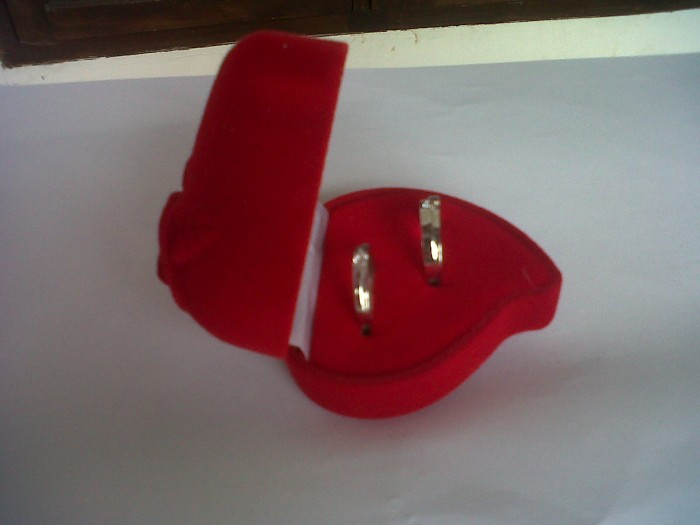 Jual Kotak Cincin Pasangan Rose Love Kota Medan Excellent Fashion Tokopedia