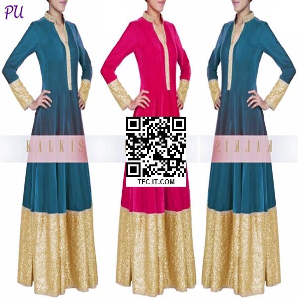 Foto Produk Dress Maxi Combinasi gold color dari LaPelosa Shop