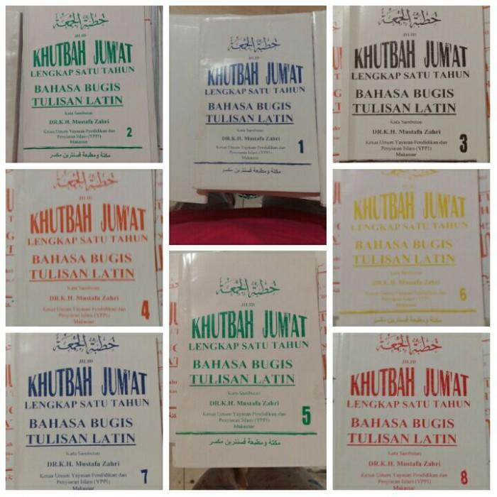 Jual Khutbah Jumat Bugis Latin Jilid 3 Kota Makassar Tb Pesantren Tokopedia