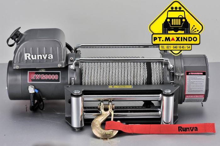 harga Runva electric winch ewg-9000 kapasitas 4 ton Tokopedia.com