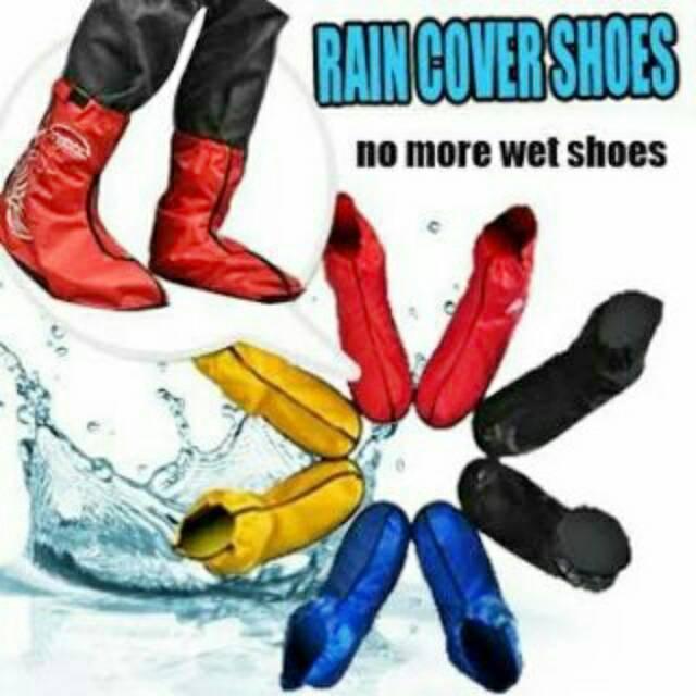 Jual Jas   Cover   Sarung Hujan sepatu   sandal (rain covet shoes ... 43b01f8f75