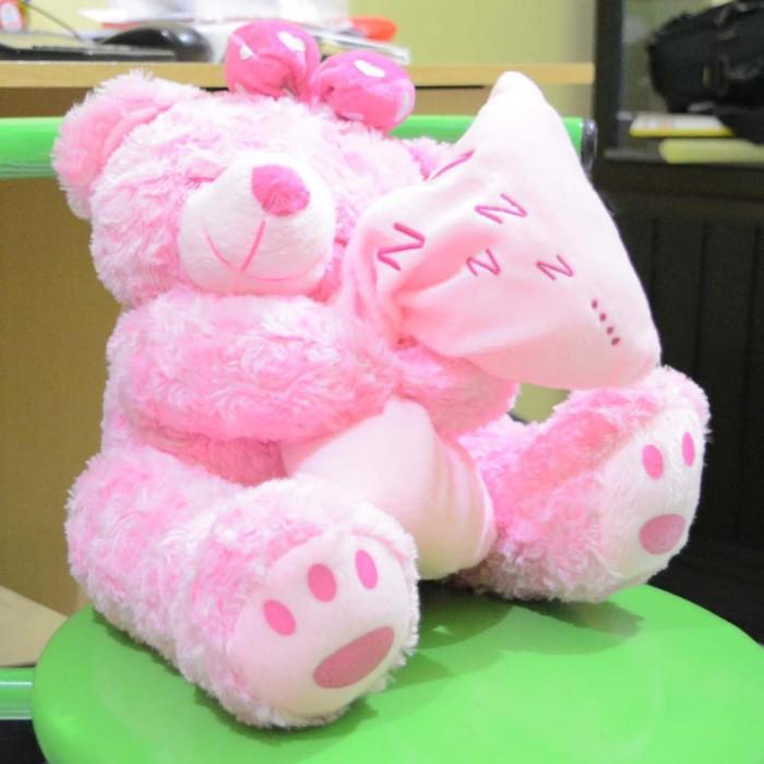 Jual Boneka Beruang Teddy Bear Pink Sleep Manis Lucu Imut 45 cm (SNI ... f3afa949b7