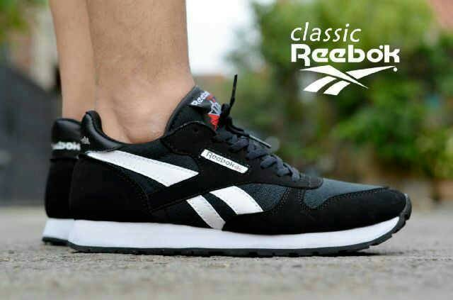 ... harga Sepatu casual pria santai reebok clasik terlaris grade original  Tokopedia.com 9a2e13b480