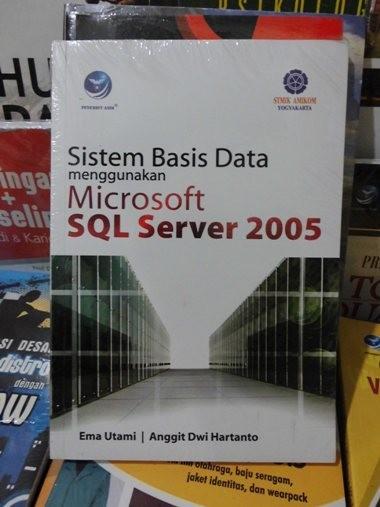 harga Sistem basis data menggunakan microsoft sql server 2005 Tokopedia.com