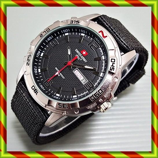 harga Swiss army canvas tanggal hari hitam | jam tangan pria nato rolex gc Tokopedia.com