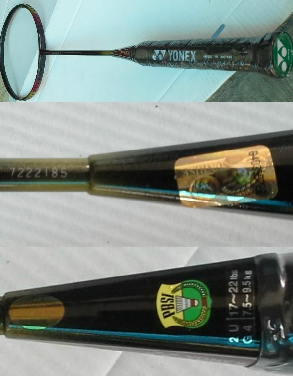 Jual Raket Badminton Yonex Carbonex 25 SP Original