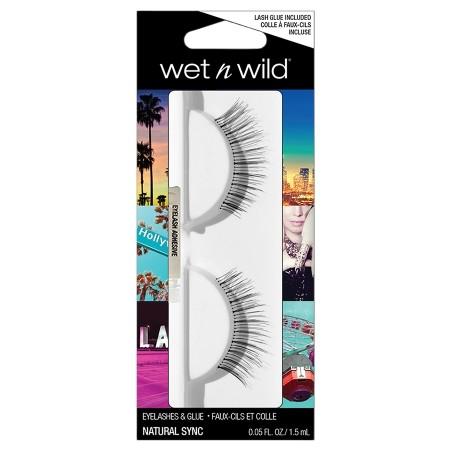 harga Wet n wild eyelashes & glue natural sync Tokopedia.com