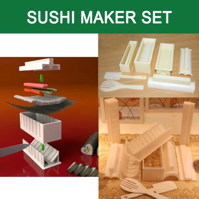 harga Set pembuat sushi  sushi maker set Tokopedia.com