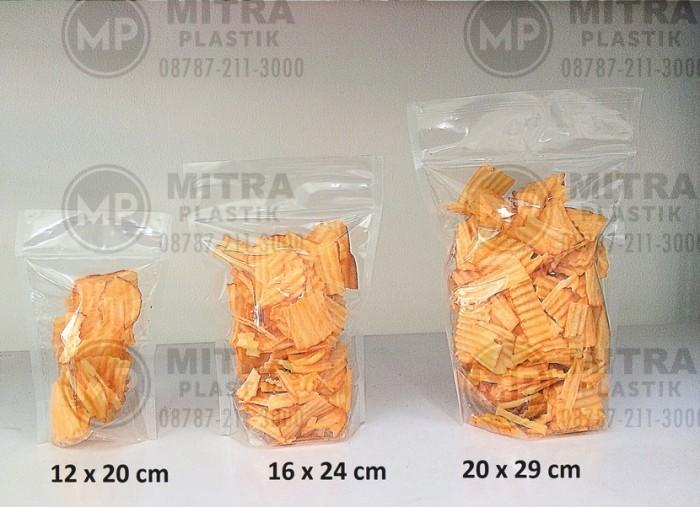 harga Plastik klip berdiri / standing pouch 14x22 cm Tokopedia.com