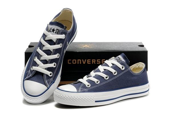 Foto Produk Sepatu Converse Biru Navy , Grade Original - 36 dari UbbayshopID