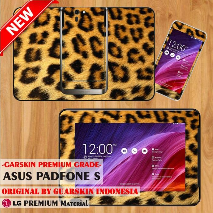 harga [original] premium garskin asus tab padfone s - leopard tiger skin Tokopedia.com