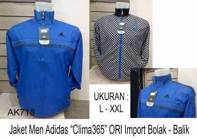 JAKET BOLAK BALIK POLOS BOMBER BIRU COWOK PRIA Shopee Indonesia Source · Jaket Adidas 718 Men Waterproof Grade Ori Biru