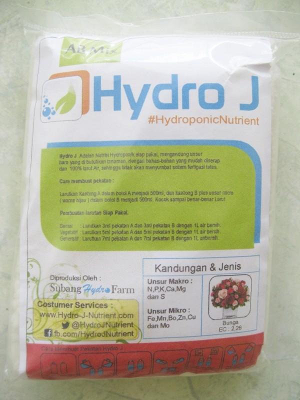 harga Pupuk nutrisi hidroponik abmix hidro j bunga 250gr Tokopedia.com
