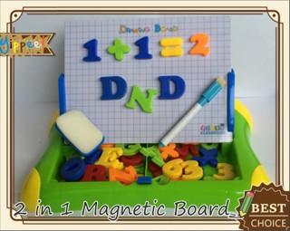 harga Mainan edukatif / edukasi anak - learning magnetic board / papan tulis Tokopedia.com