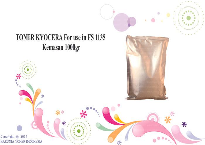 harga Toner kyocera for use in fs 1135 kemasan 1000gr Tokopedia.com