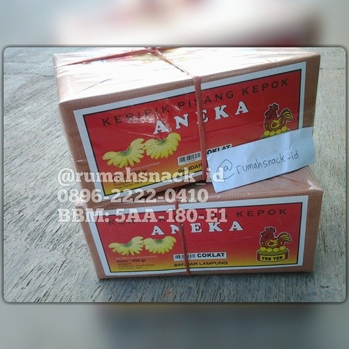 ... harga Keripik pisang aneka coklat 450gr lampung yen yen Tokopedia.com