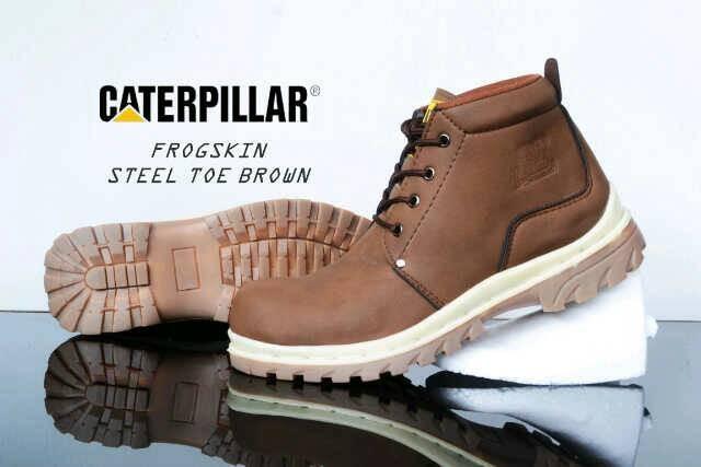 harga Sepatu casual pria caterpillar reus safety Tokopedia.com