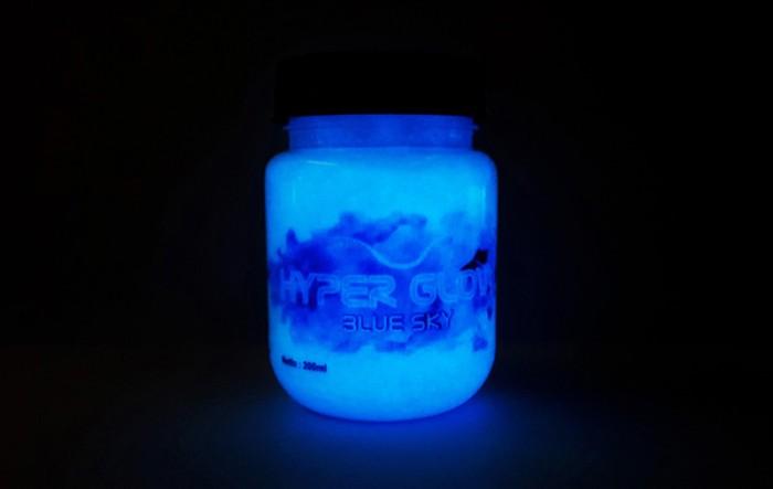 harga Glow biru dongker cat kuas lukis tembok fosfor aman berpendar Tokopedia.com