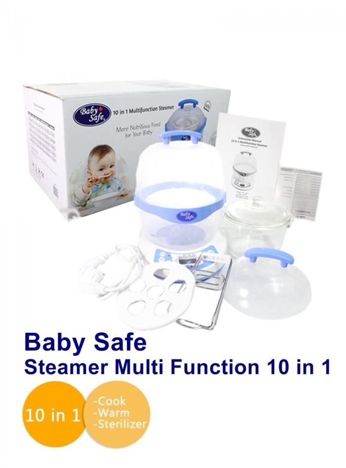 Baby Safe 10 in 1 Multifunction Steamer / Steriliser Multi Fungsi