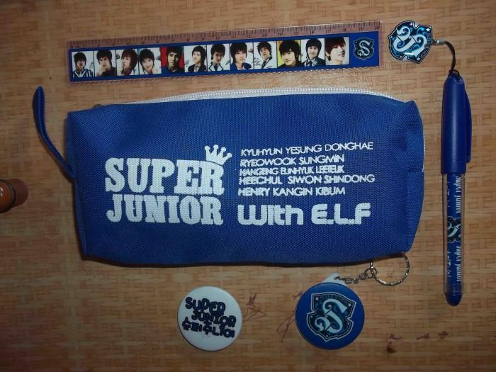 Paket pencase k pop suju/super junior