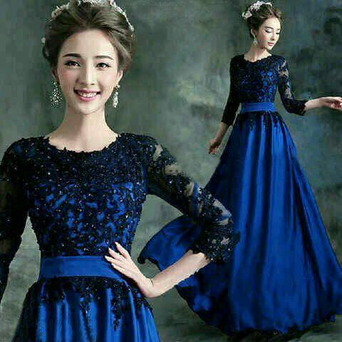 Jual Glamour Dress Baju Pesta Terbaru Gaun Modern Imul 99 Shop