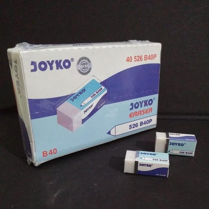 Foto Produk Penghapus Joyko Kecil B40P (Pak 40 Pcs) dari officemart