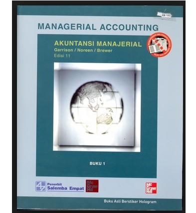 harga Salemba empat  akuntansi manajerial edisi 11 buku 1 (koran) Tokopedia.com