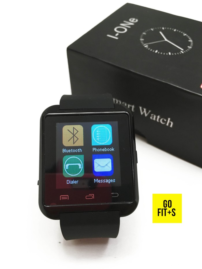 I-One U8 Smartwatch For Android and iOS - Black