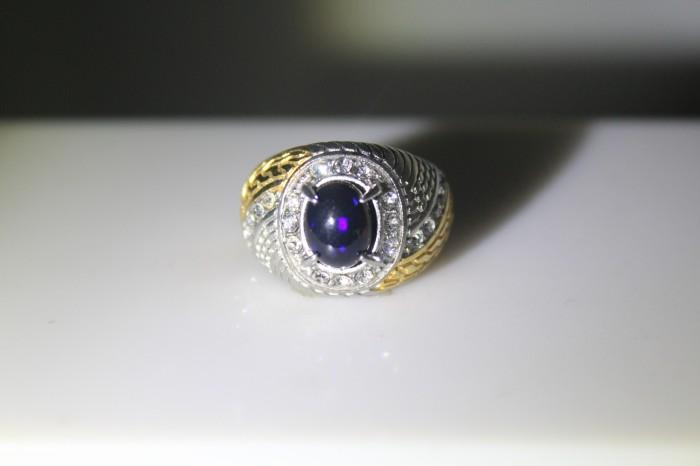 harga Batu natural black opal / kalimaya k006 Tokopedia.com