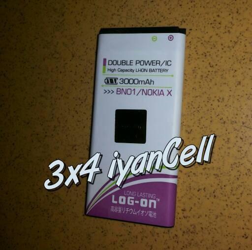 Baterai/Battery Nokia X BN-01 (3000mAh)