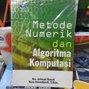 harga Metode numerik dan algoritma komputasi Tokopedia.com