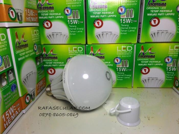 harga Lampu led emergency mitsuyama 15 watt battre 2 / double Tokopedia.com