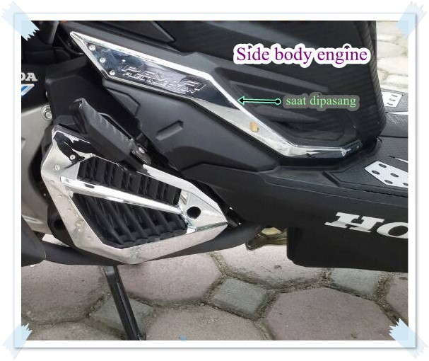 harga Garnish side body / bodi samping honda vario 125/ 150 esp Tokopedia.com