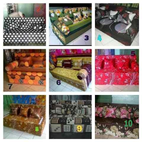 harga Cover sofa bed no. 4 kain nikita Tokopedia.com