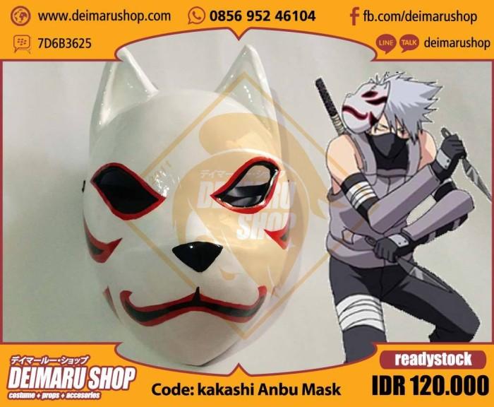 Jual Kakashi Anbu Mask Topeng Anime Manga Naruto Hatake Cosplay Kab Bekasi Toko Cosplay Deimaru Tokopedia