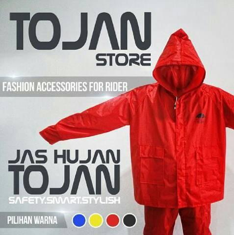 harga Jas hujan stelan (jaket dan celana) tojan Tokopedia.com